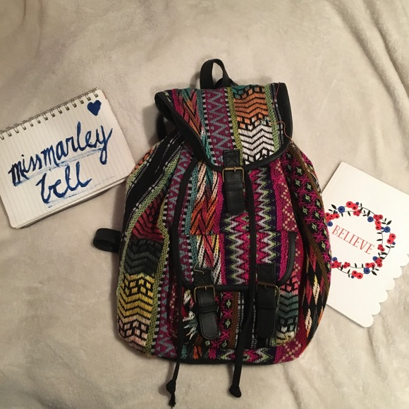 Claire's Handbags - Claire's Multicolor Backpack